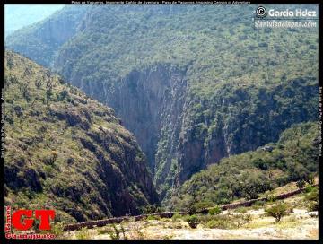 Paso de Vaqueros, Imposing Canyon of Adventure