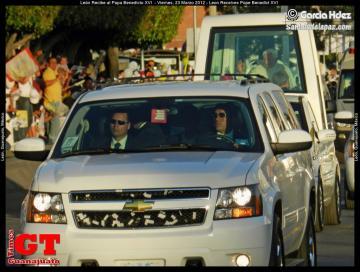 Leon Guanajuato Receives Pope Benedict XVI