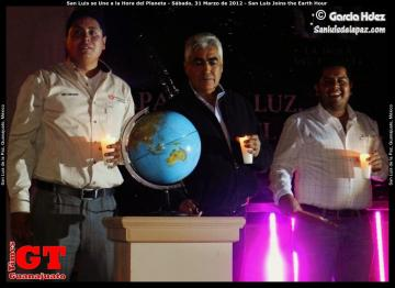 San Luis Joins the Earth Hour