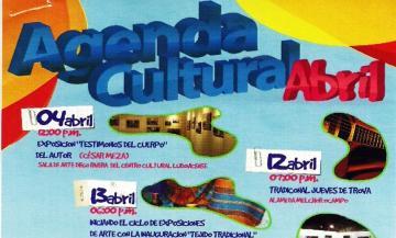 April´s Cultural Agenda
