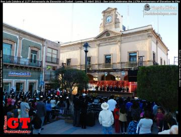 San Luis Celebrates the 117th Anniversary of Elevation to City