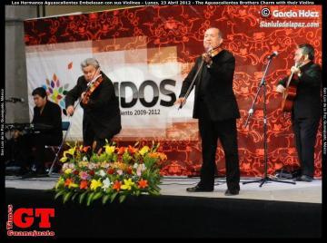 The Aguascalientes Brothers Charm with their Violins