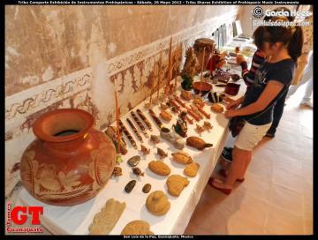 Tribu Shares Exhibition of Prehispanic Music Instruments
