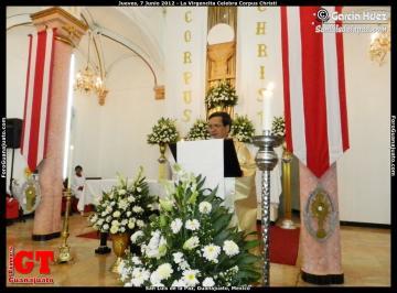 La Virgencita Celebrates Corpus Christi