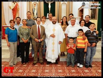 The Rotary Club San Luis de la Paz Turns 35