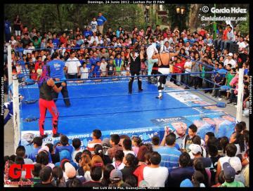 AAA Stars Wrestle for PAN