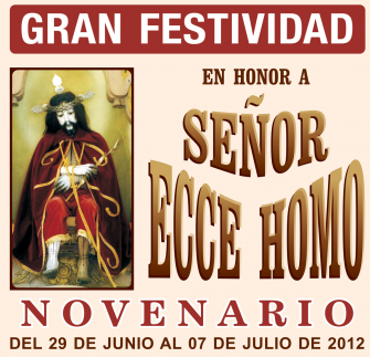 Program of the Festivity of Lord Ecce Homo