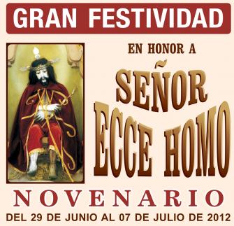 Program of the Festivity of Lord Ecce Homo