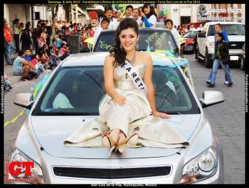 Fair Queen Candidates Perform Caravan